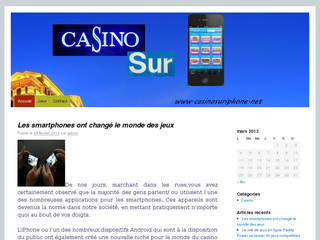 Casino sur iphone
