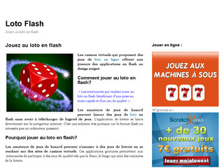 Détails : Loto flash