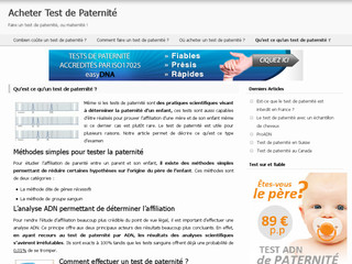 Test de paternité